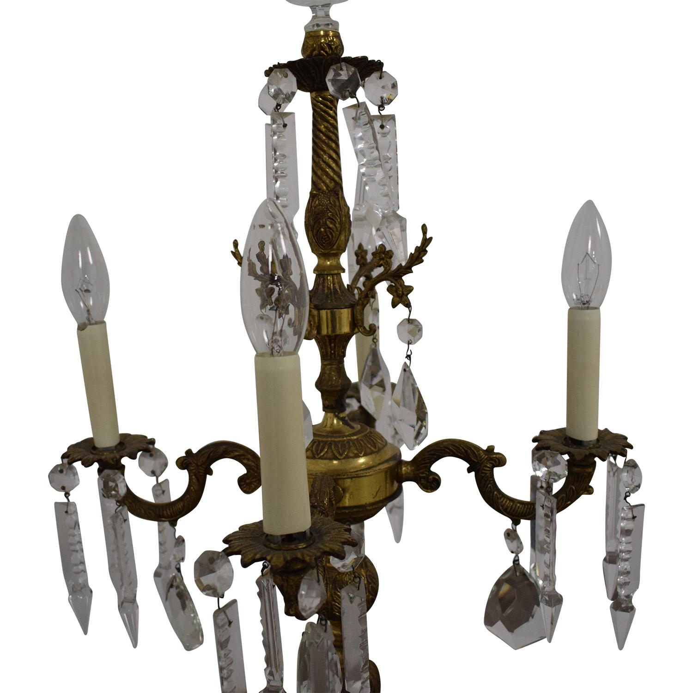 shop Chandelier Style Table Lamp  Decor