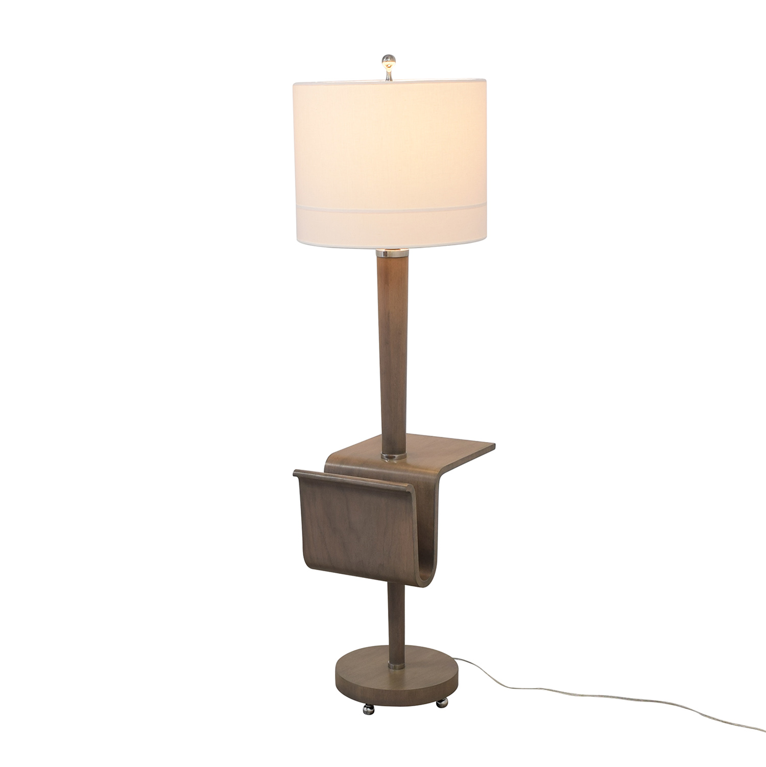 Stonebrook Interiors Stonebrook Interiors Floor Lamp with Magazine Holder Decor