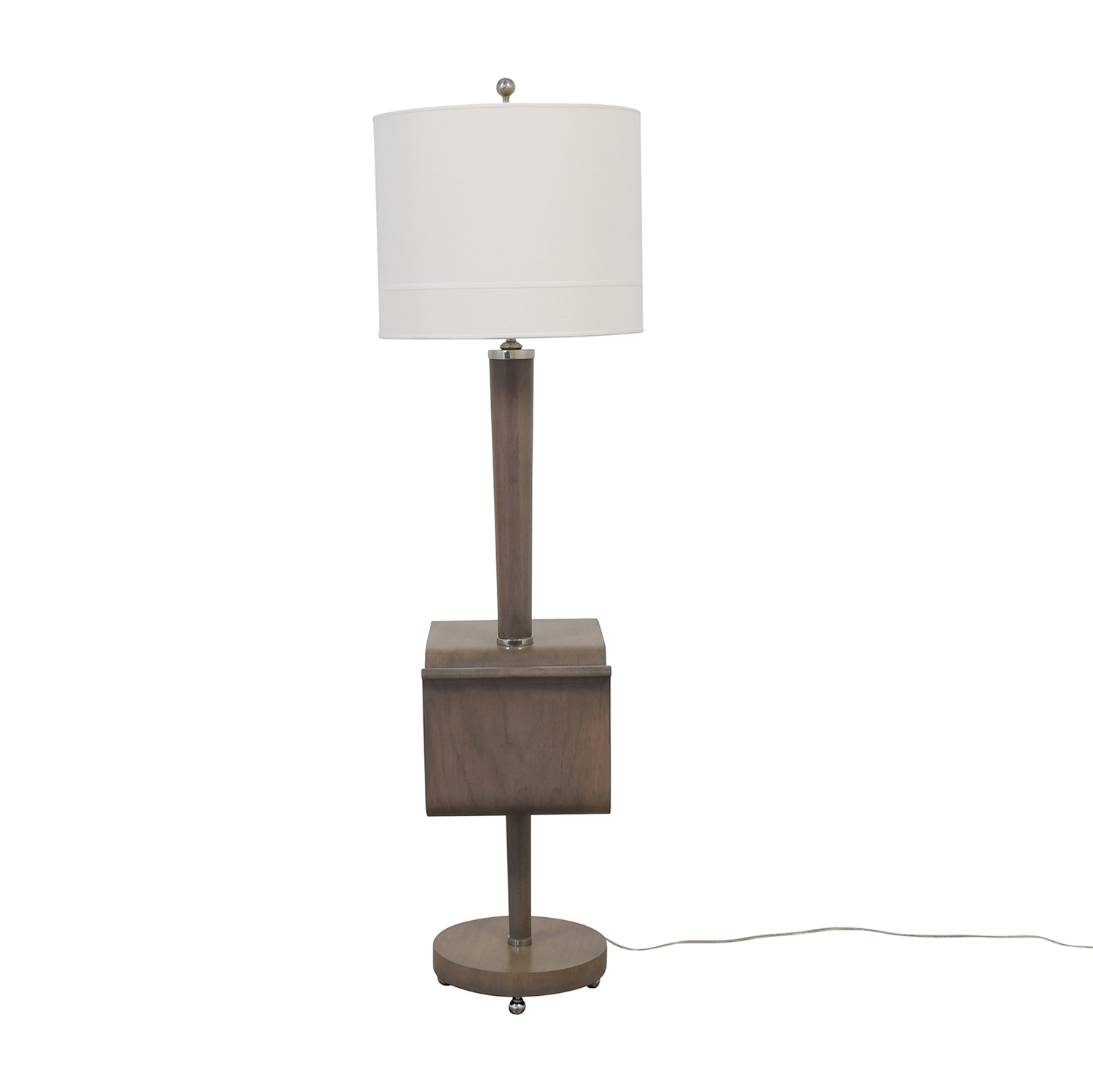 Stonebrook Interiors Stonebrook Interiors Floor Lamp with Magazine Holder on sale