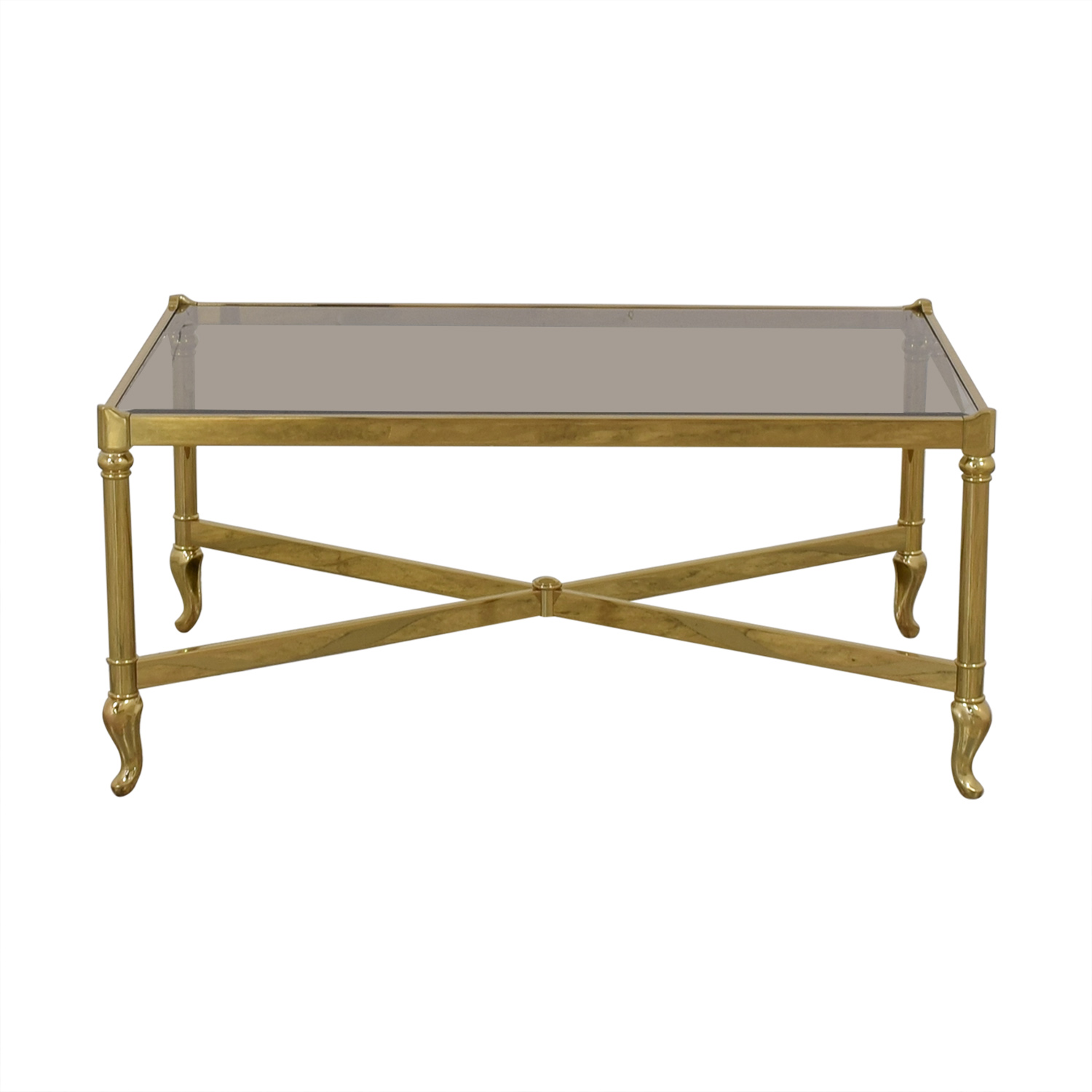 Glass Table Coffee Table.72 Off Mirrored Glass Top Coffee Table Tables