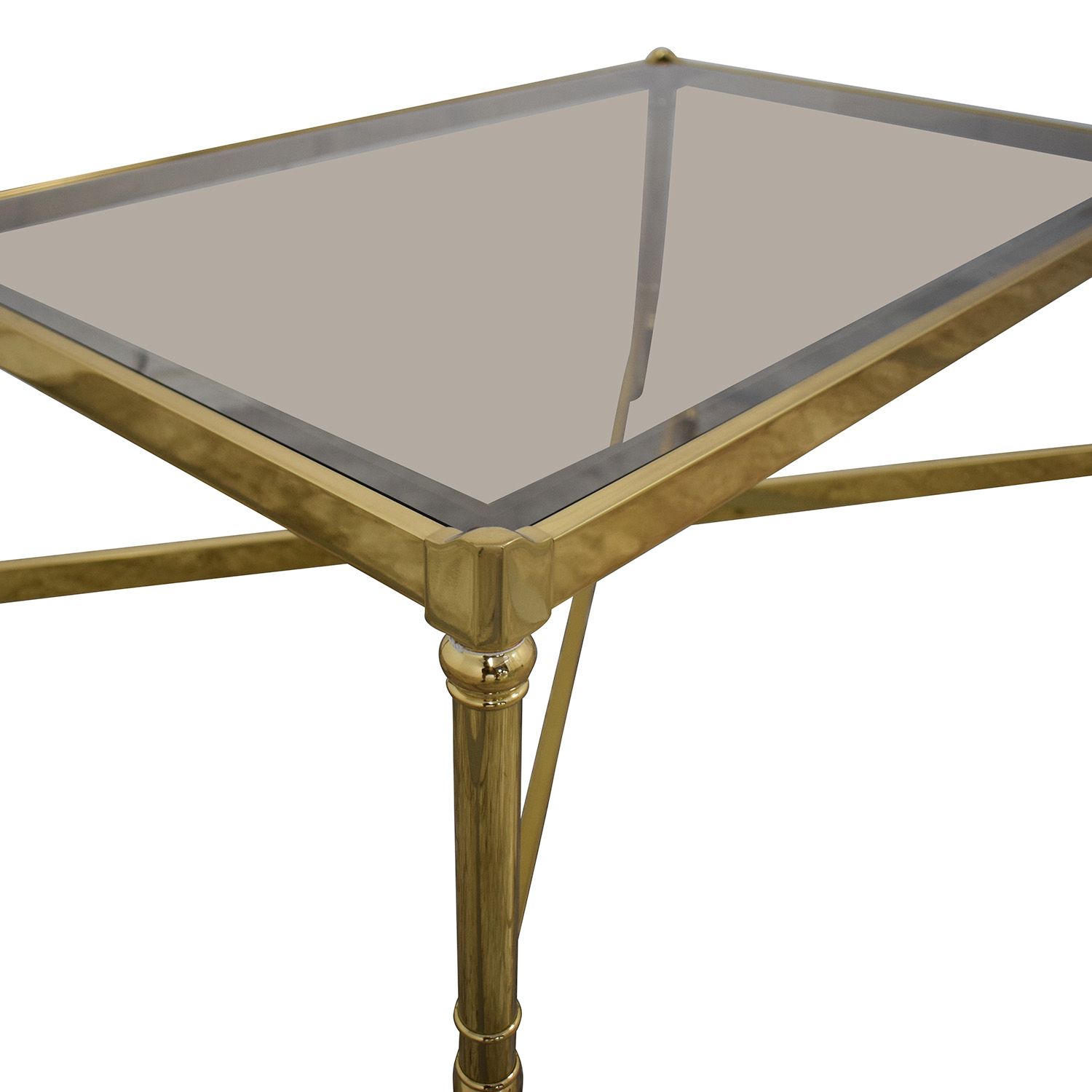 Mirrored Glass Top Coffee Table / Coffee Tables