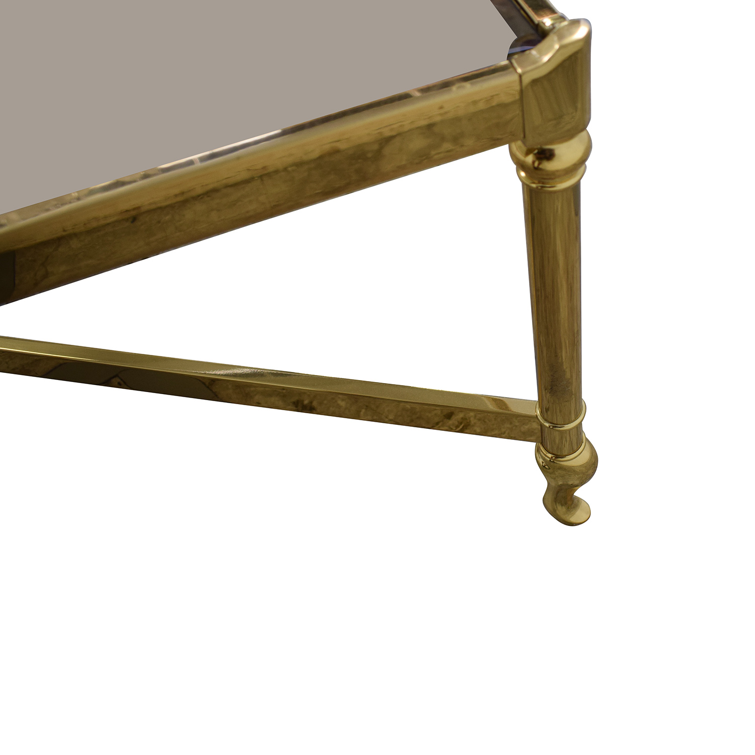 buy Mirrored Glass Top Coffee Table  Tables