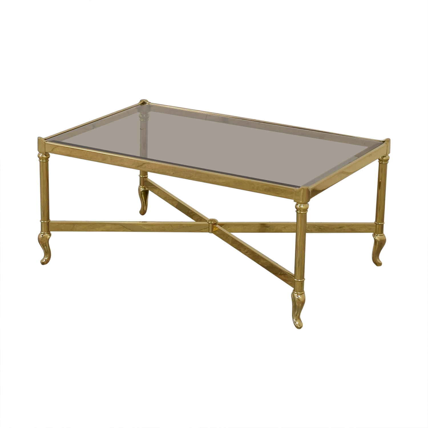 buy Mirrored Glass Top Coffee Table