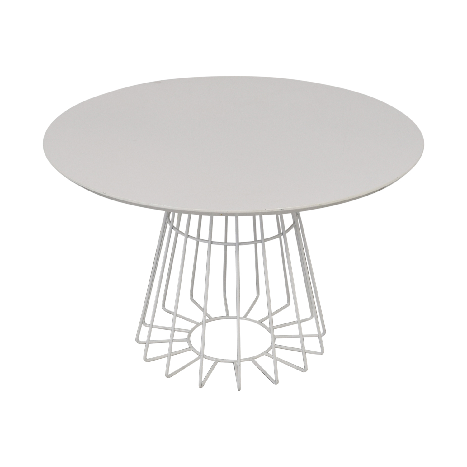 buy CB2 CB2 Compass Wire Base Dining Table online