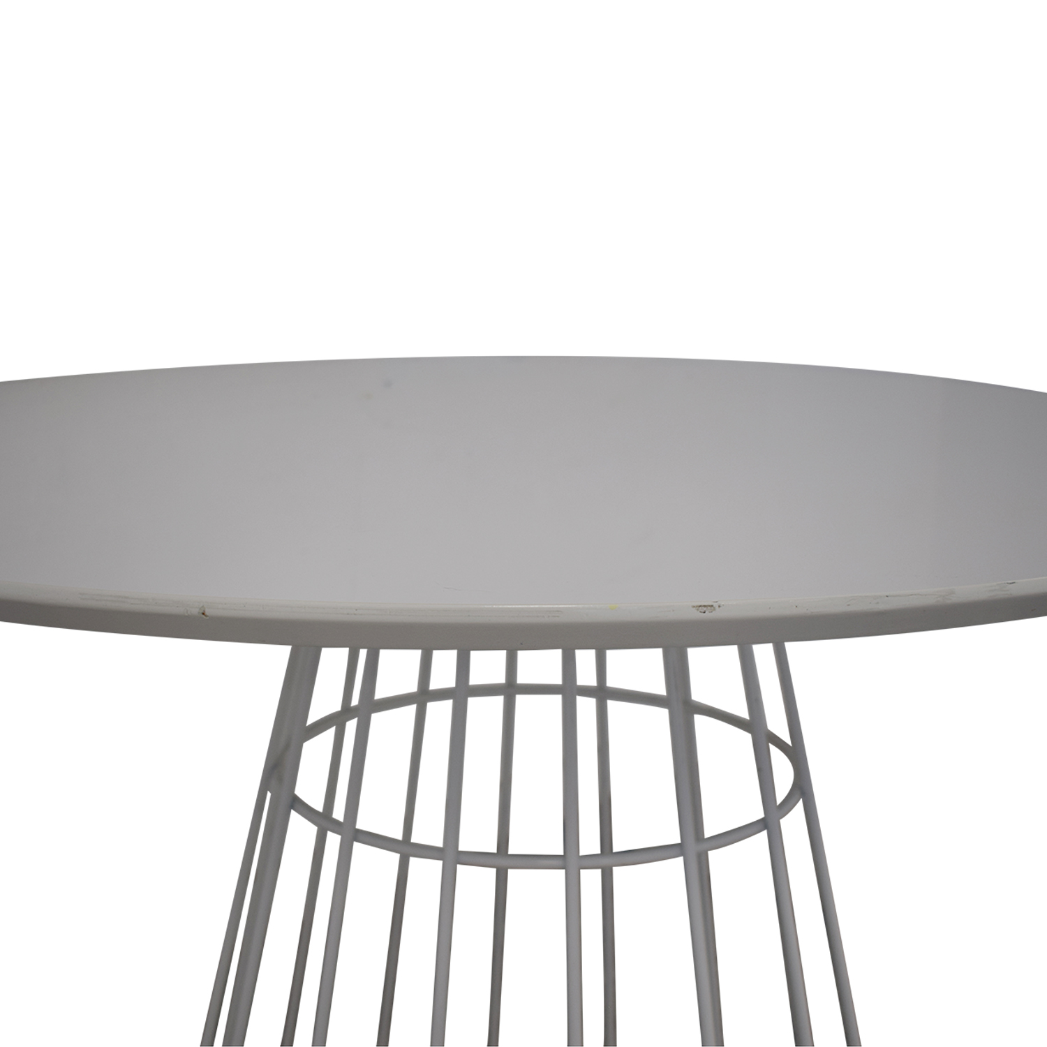 buy CB2 Compass Wire Base Dining Table CB2 Dining Chairs
