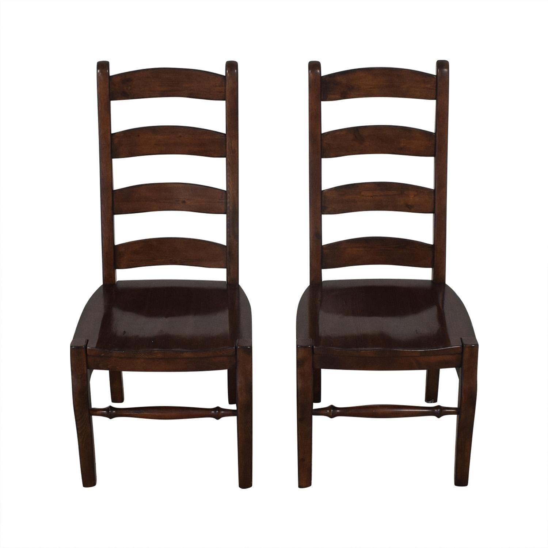 Pottery Barn Pottery Barn Wynn Ladderback Dining Chairs on sale