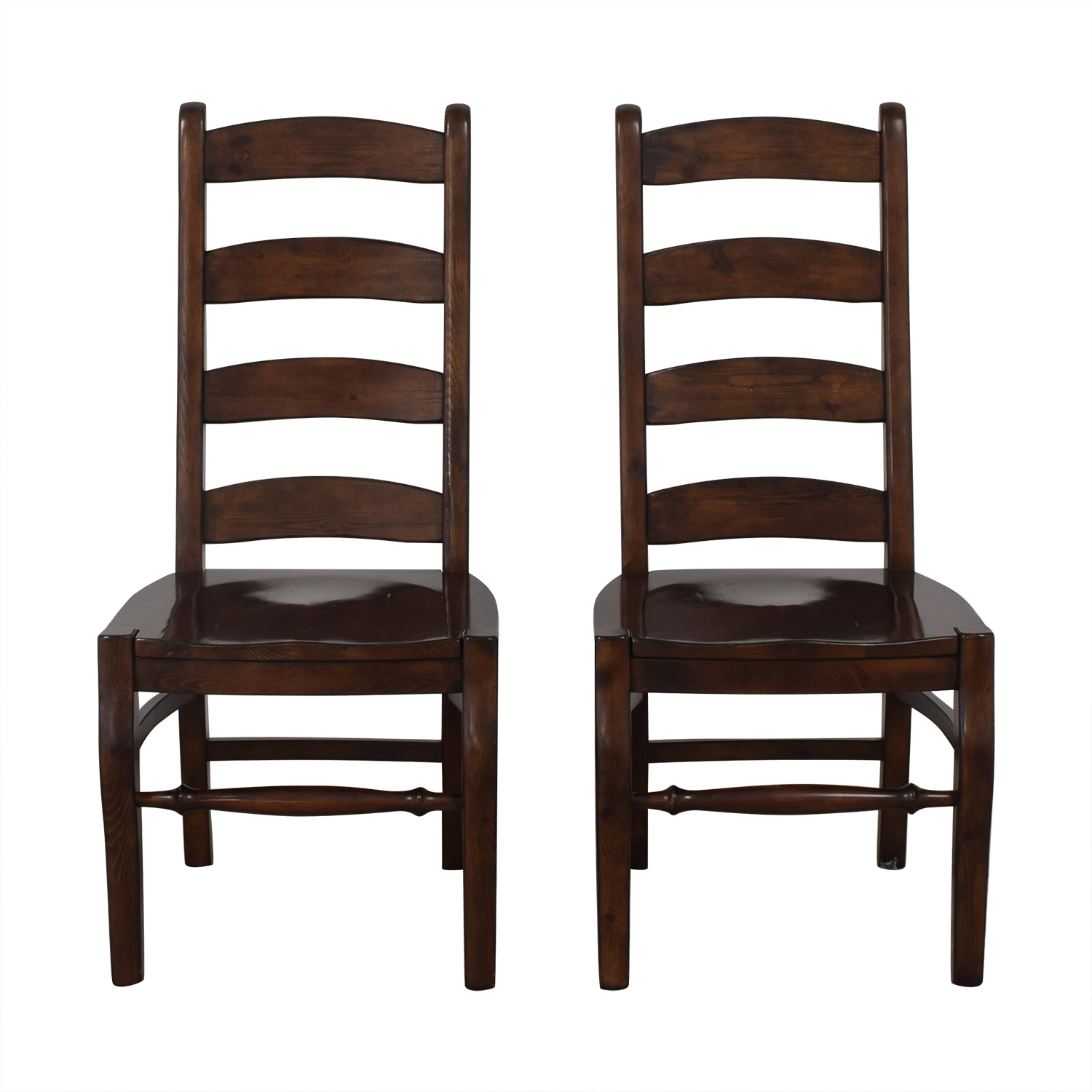 Pottery Barn Wynn Ladderback Dining Chairs sale