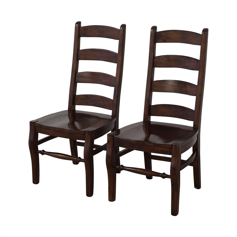 Pottery Barn Pottery Barn Wynn Ladderback Dining Chairs nyc