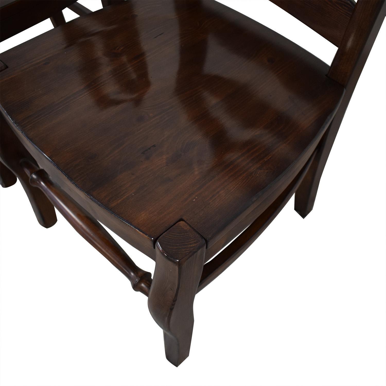 Pottery Barn Pottery Barn Wynn Ladderback Dining Chairs Chairs