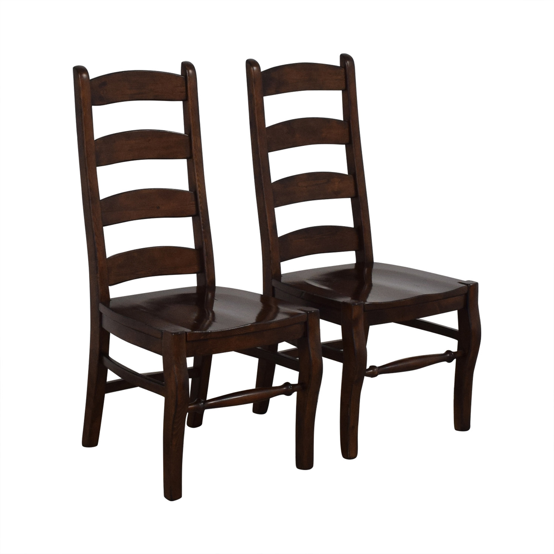 Pottery Barn Pottery Barn Wynn Ladderback Dining Chairs nj