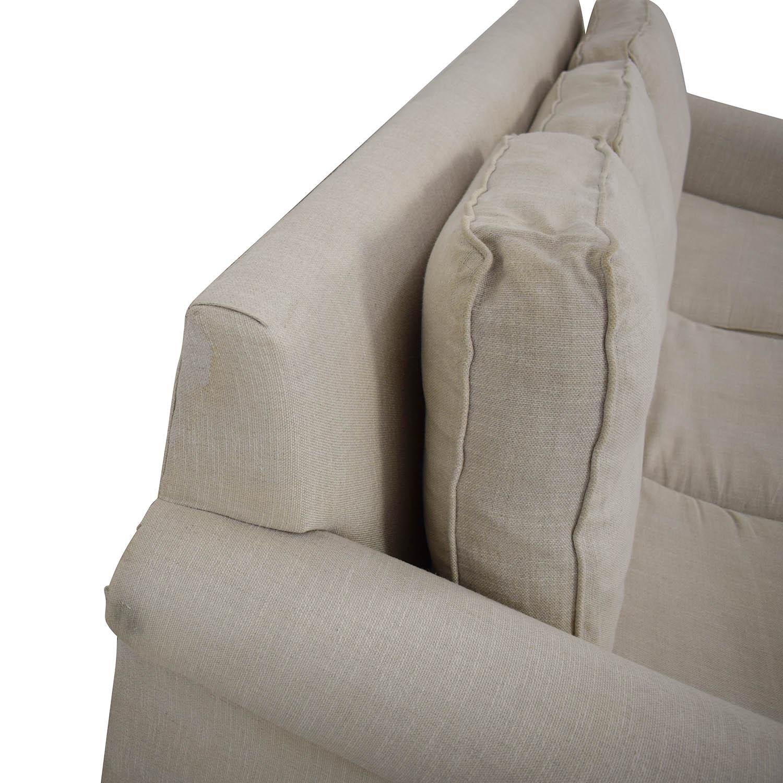 shop West Elm West Elm Cameron Roll Arm Upholstered Sleeper Sofa online