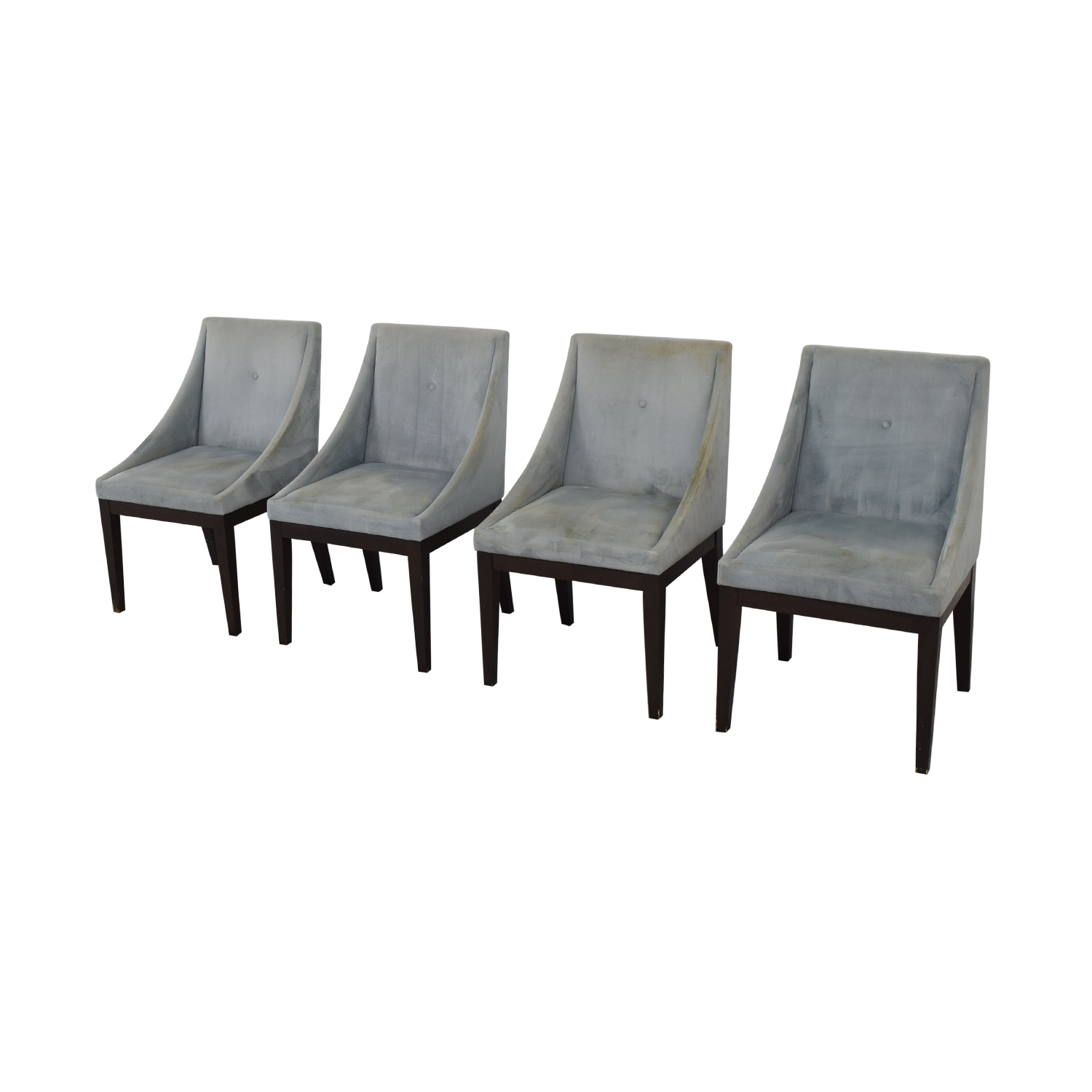 buy West Elm Upholstered Dining Chairs West Elm