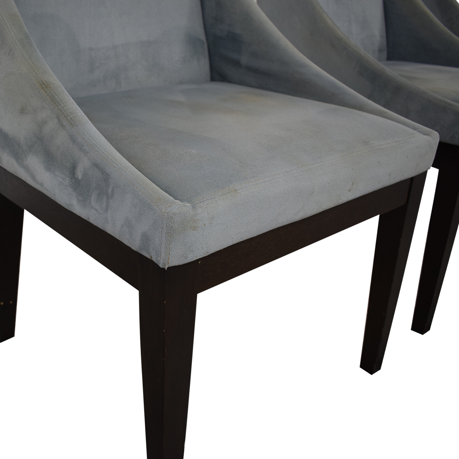 West Elm Upholstered Dining Chairs sale