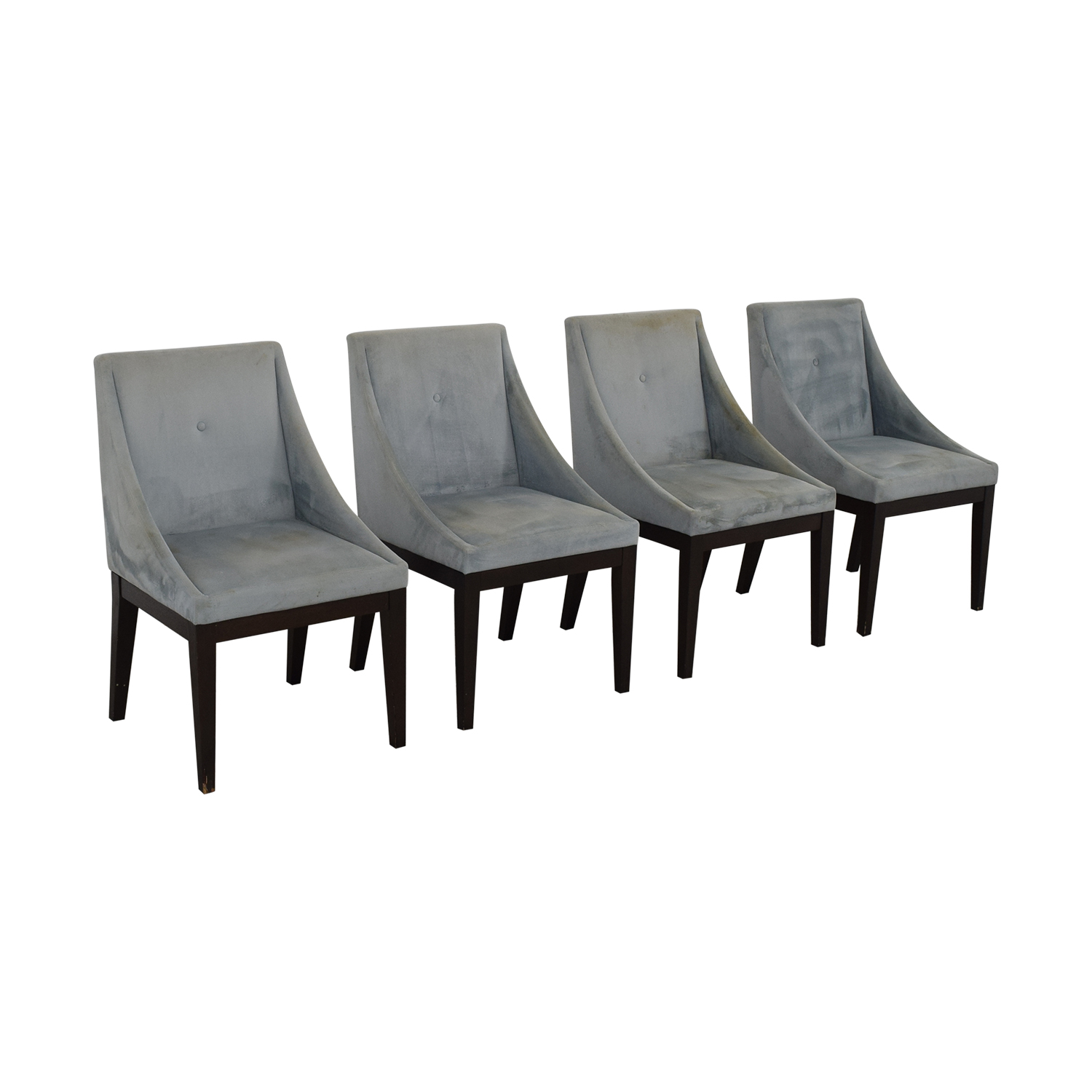 West Elm West Elm Upholstered Dining Chairs