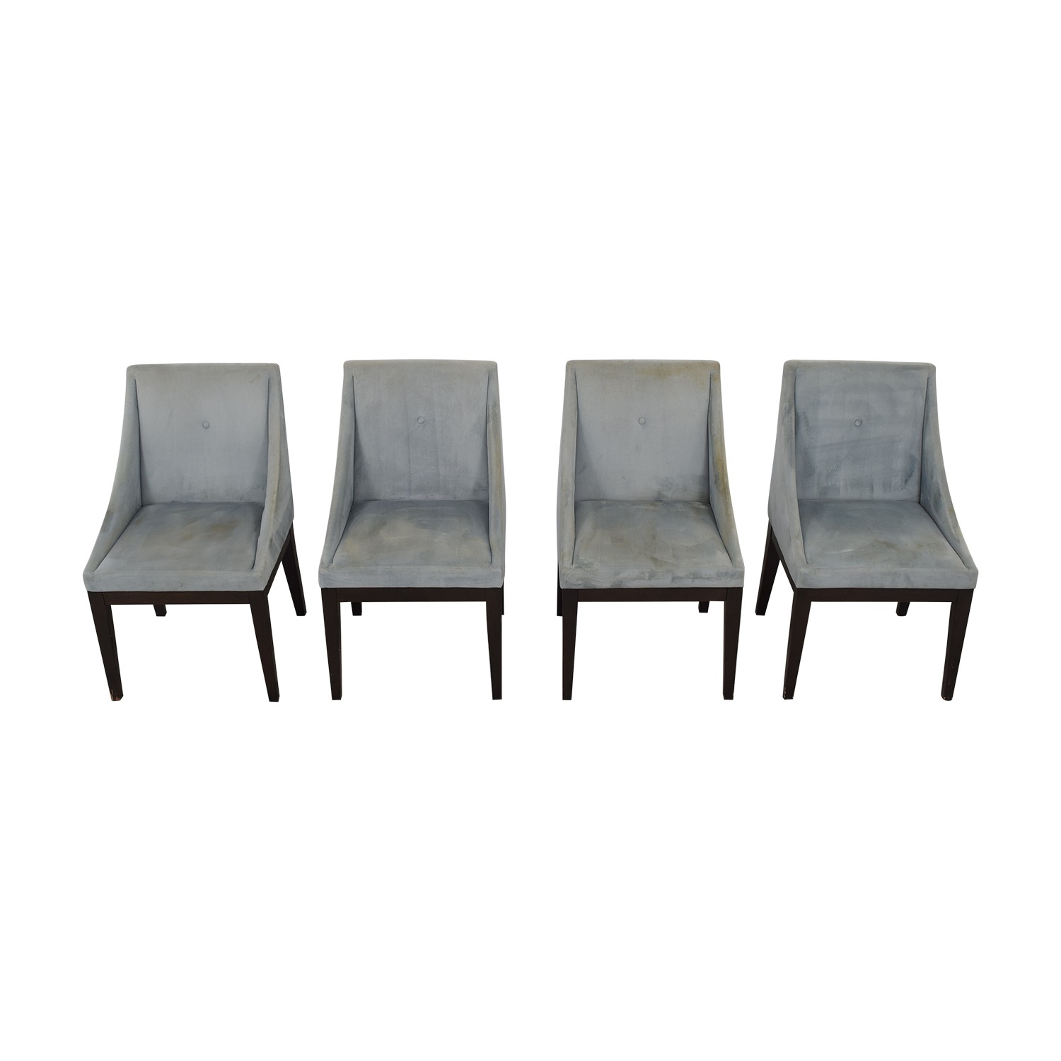 West Elm West Elm Upholstered Dining Chairs pa