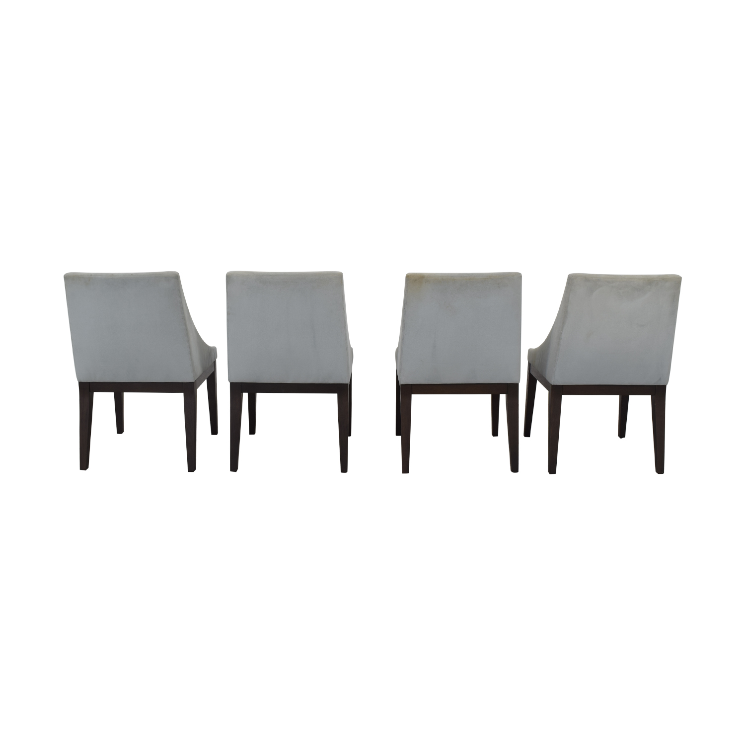 West Elm West Elm Upholstered Dining Chairs nyc