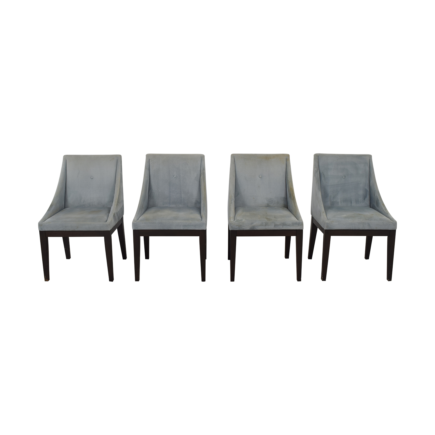 West Elm West Elm Upholstered Dining Chairs on sale