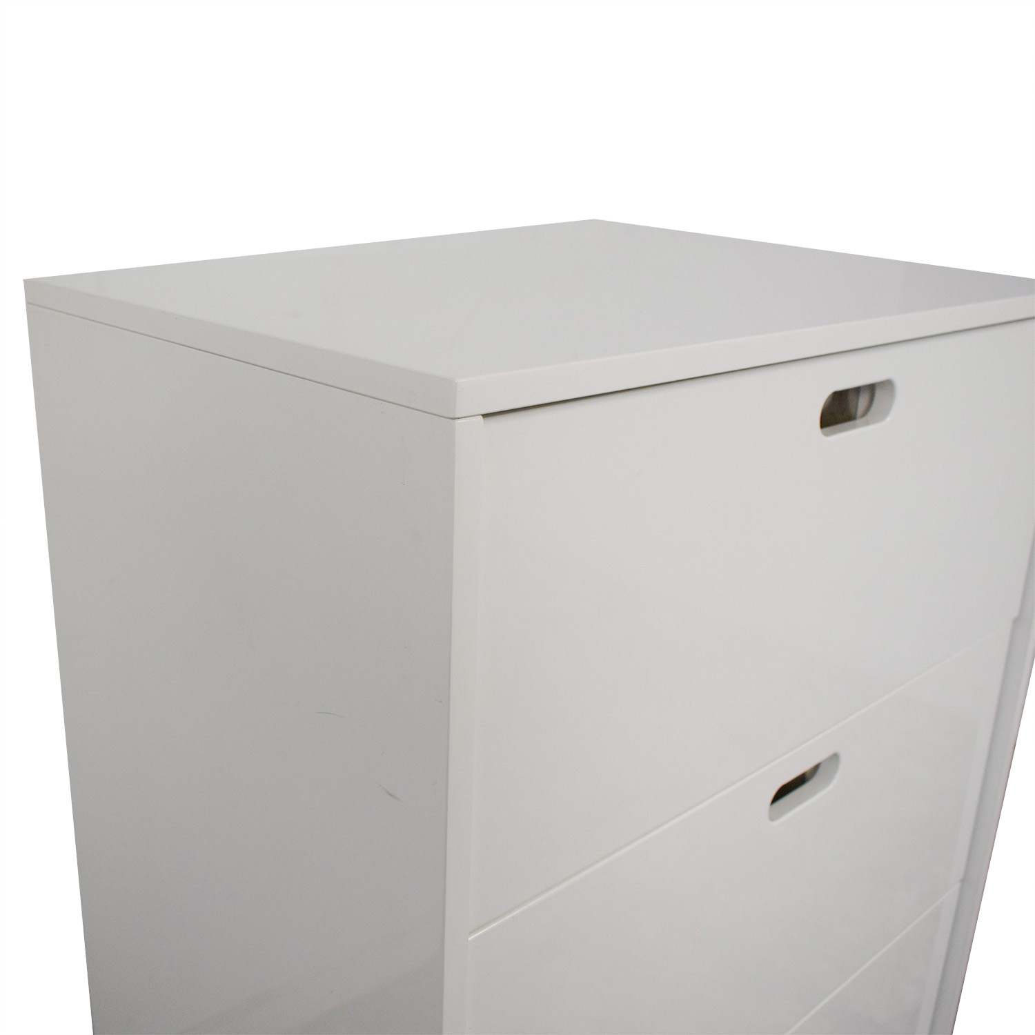 buy CB2 Tall Gloss Chest of Drawers CB2