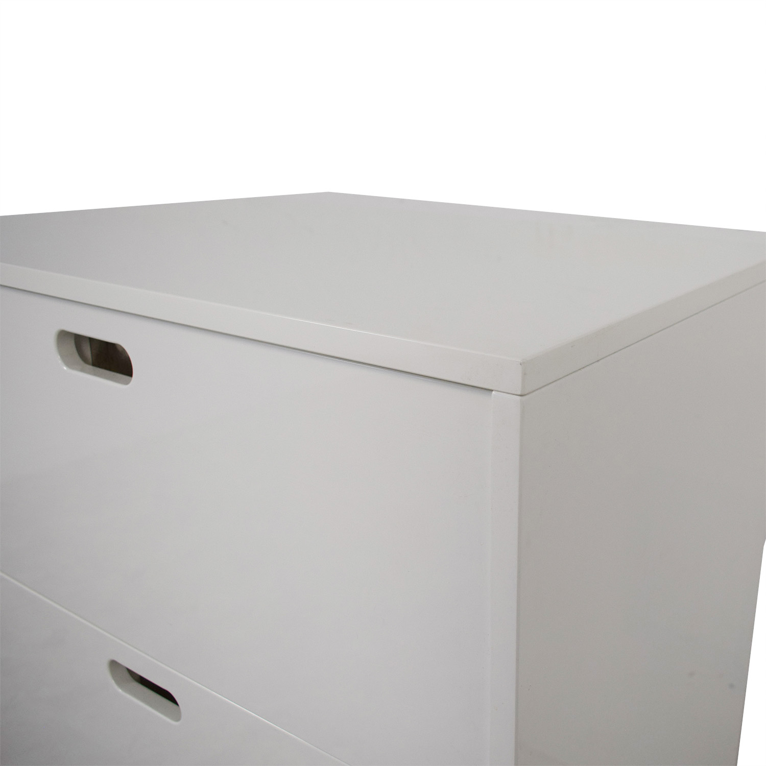 CB2 CB2 Tall Gloss Chest of Drawers nyc