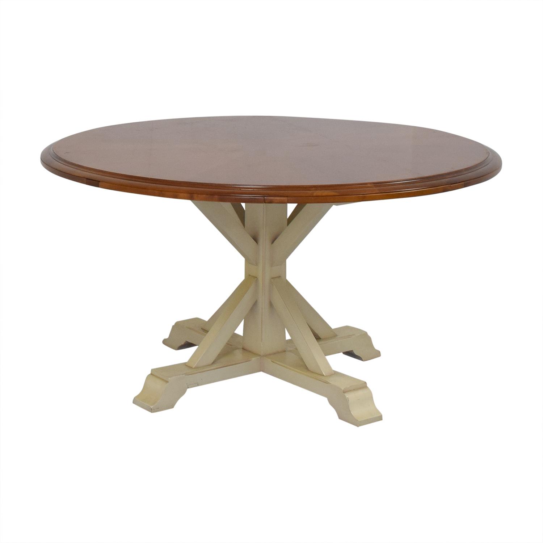 Grange Grange Pedestal Dining Table used