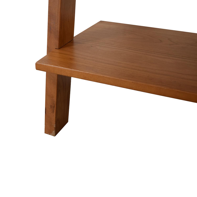 Room & Board Room & Board Pisa Leaning Bookshelf brown