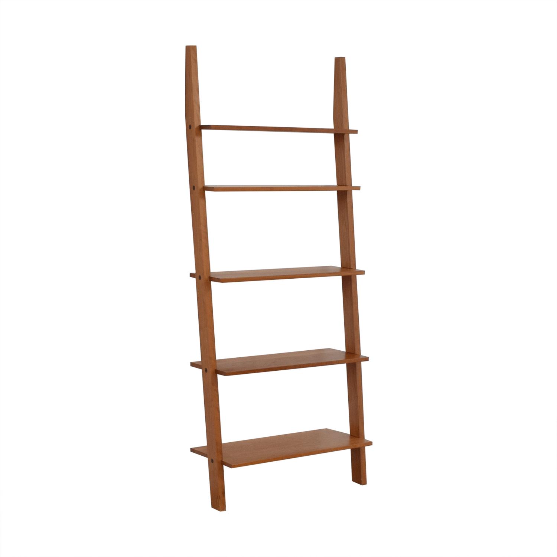 Room & Board Room & Board Pisa Leaning Bookshelf dimensions