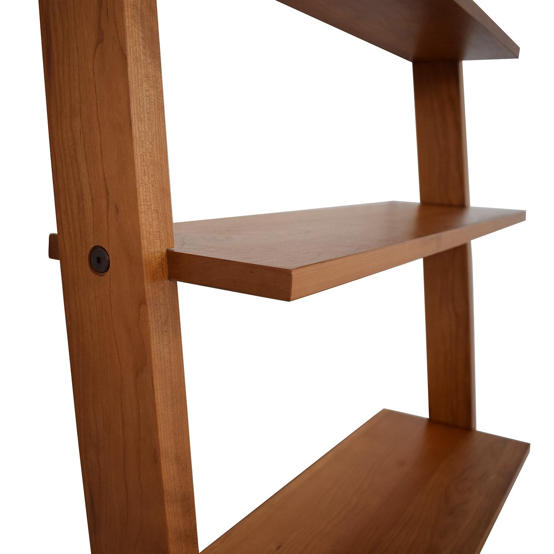 Room & Board Pisa Leaning Bookshelf sale