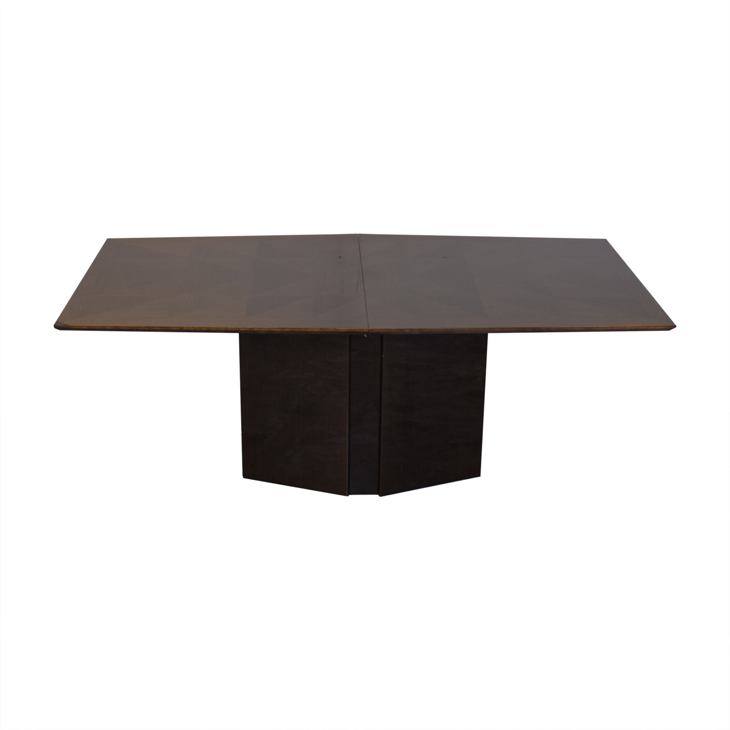 Elio Elio Dining Table with Center Leaf dimensions