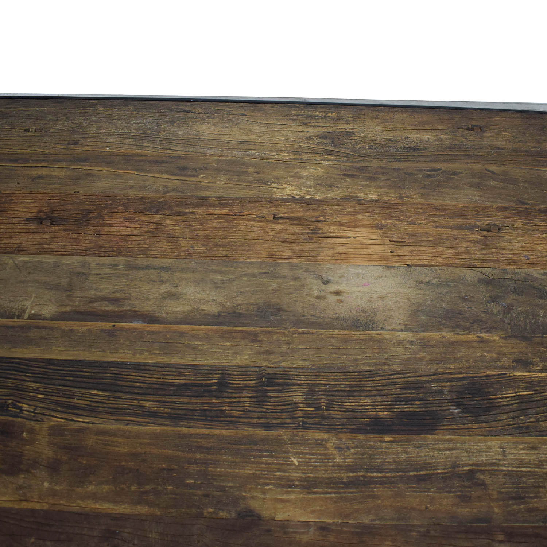 buy Restoration Hardware Dutch Industrial Coffee Table Restoration Hardware Tables