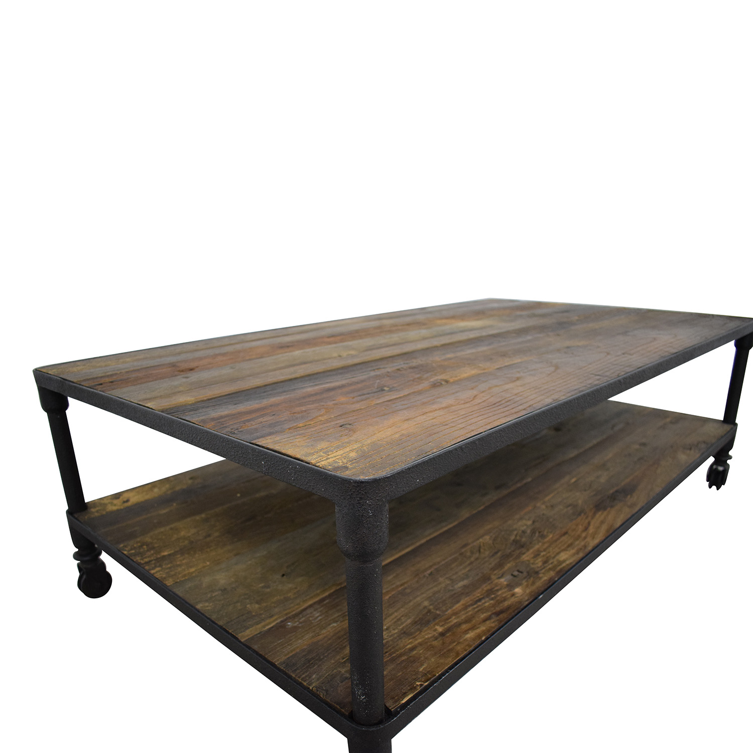 57% OFF   Restoration Hardware Restoration Hardware Dutch Industrial Coffee  Table / Tables