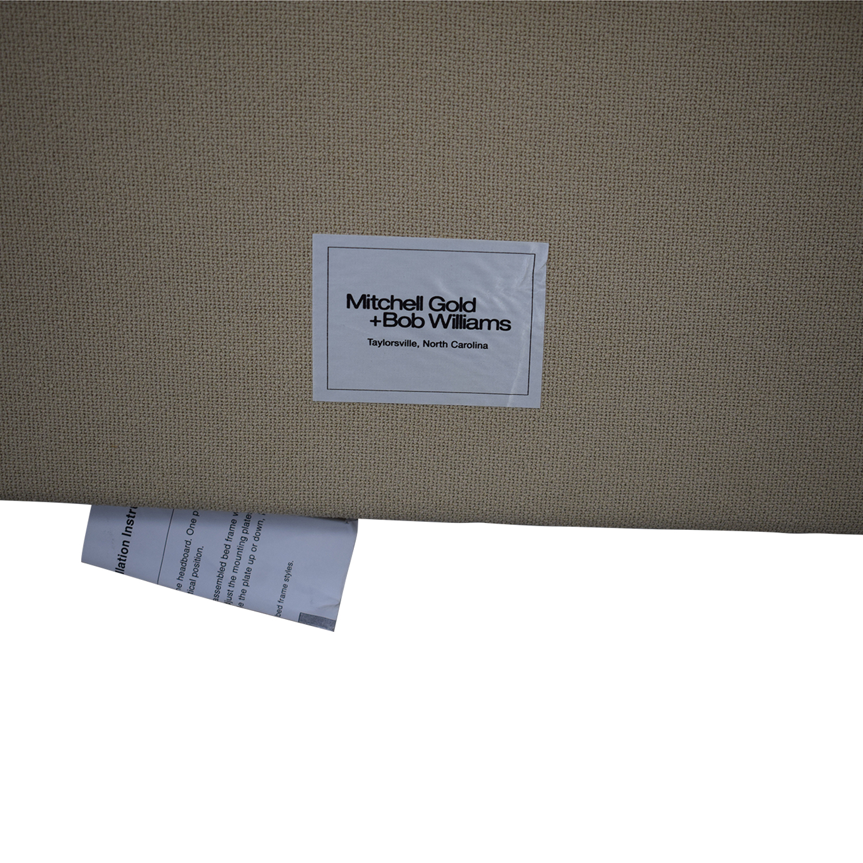 buy Mitchell Gold + Bob Williams Mitchell Gold + Bob Williams Tufted King Headboard online