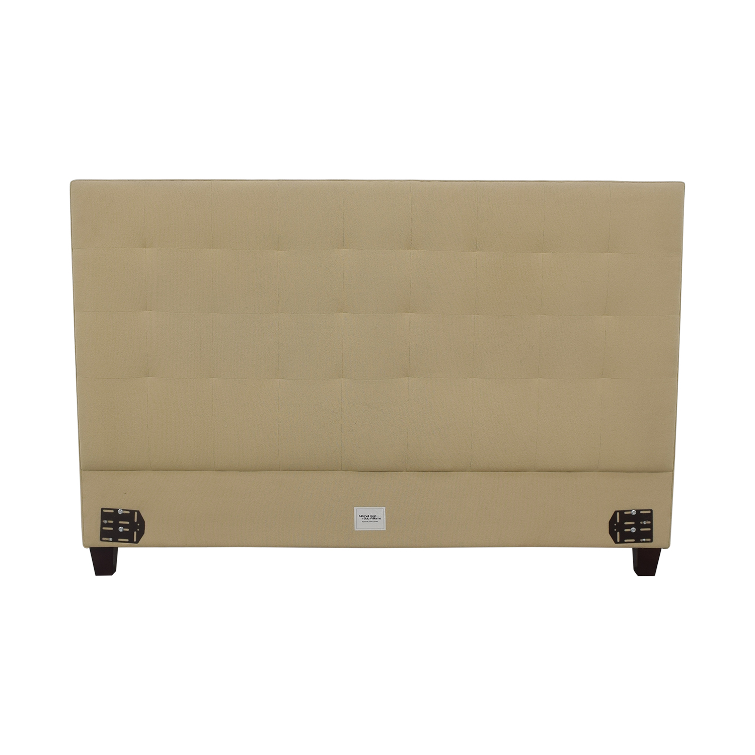Mitchell Gold + Bob Williams Tufted King Headboard / Beds