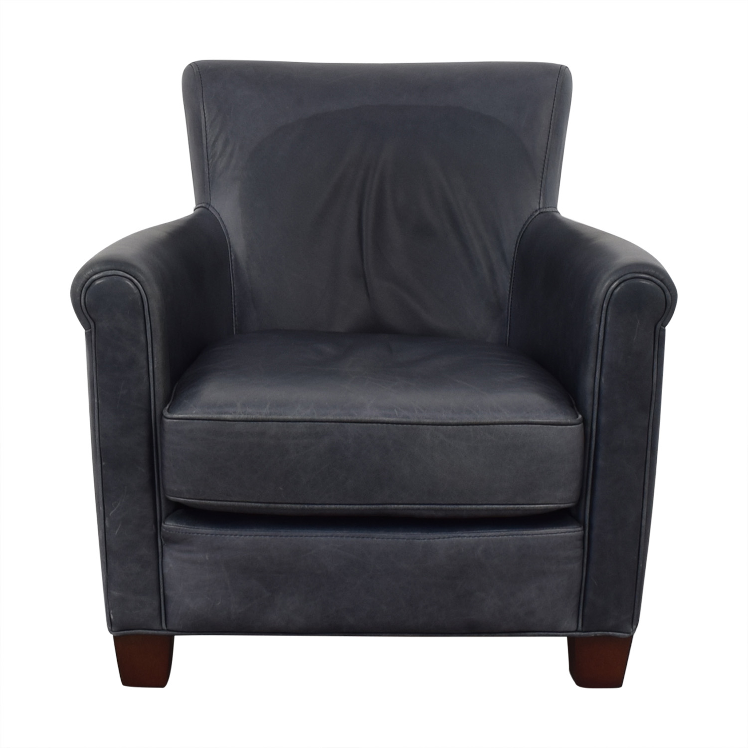 shop Pottery Barn Irving Roll Arm Armchair Pottery Barn Chairs