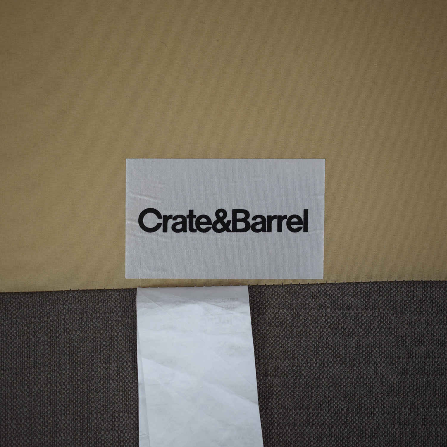 Crate & Barrel Lounge Sofa with Chaise sale