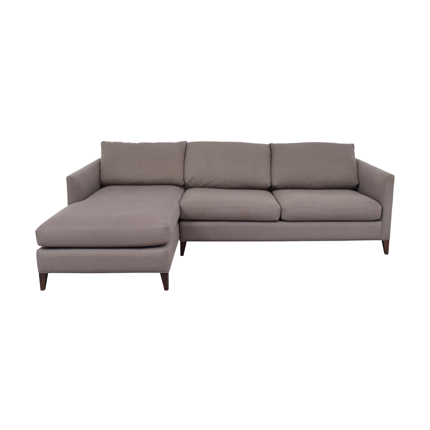 Crate & Barrel Crate & Barrel Lounge Sofa with Chaise second hand