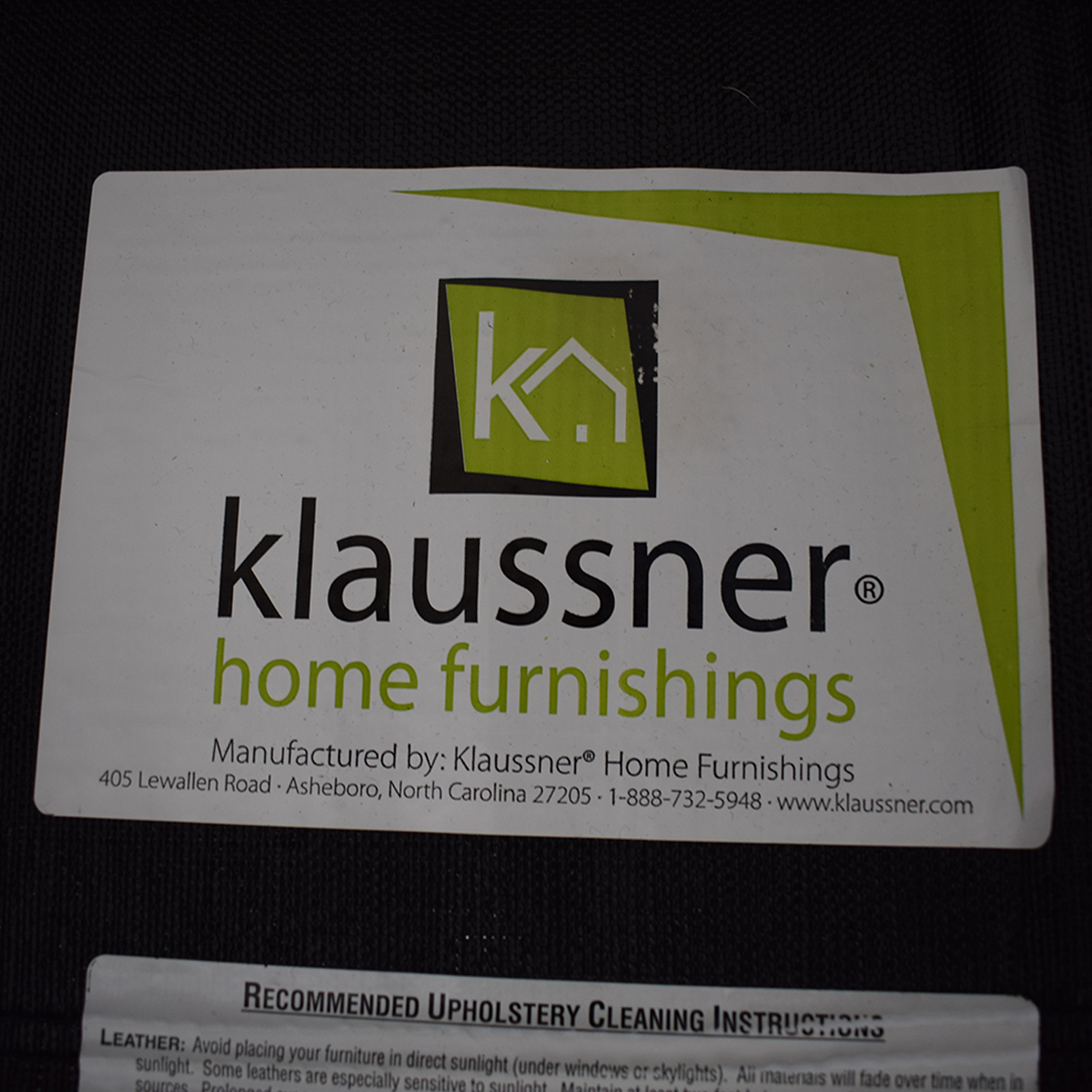 Klaussner Taylor Queen Sleeper Sofa sale