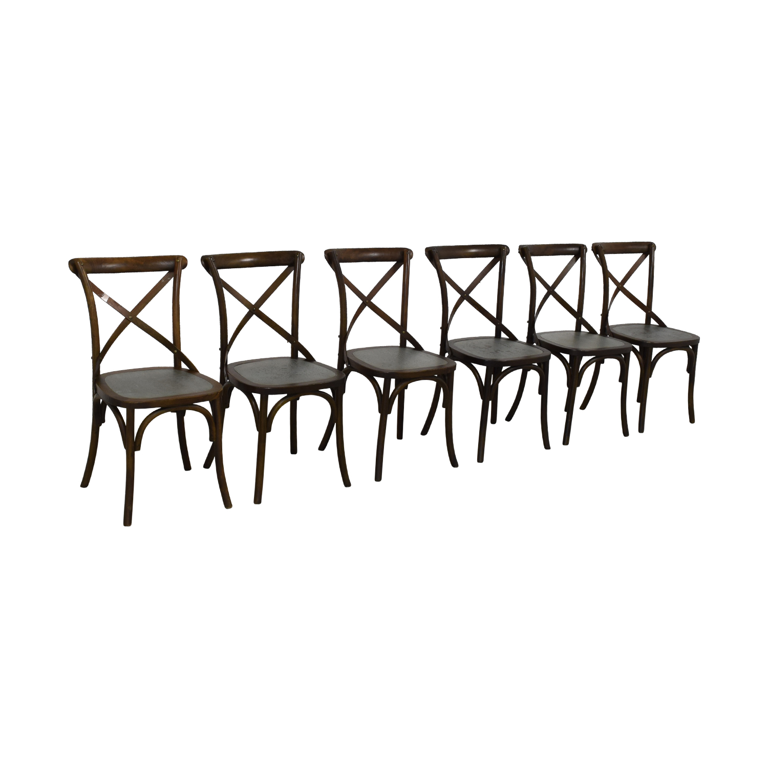 Sitcom Furniture Sitcom Furniture Wood and Metal Dining Chairs price