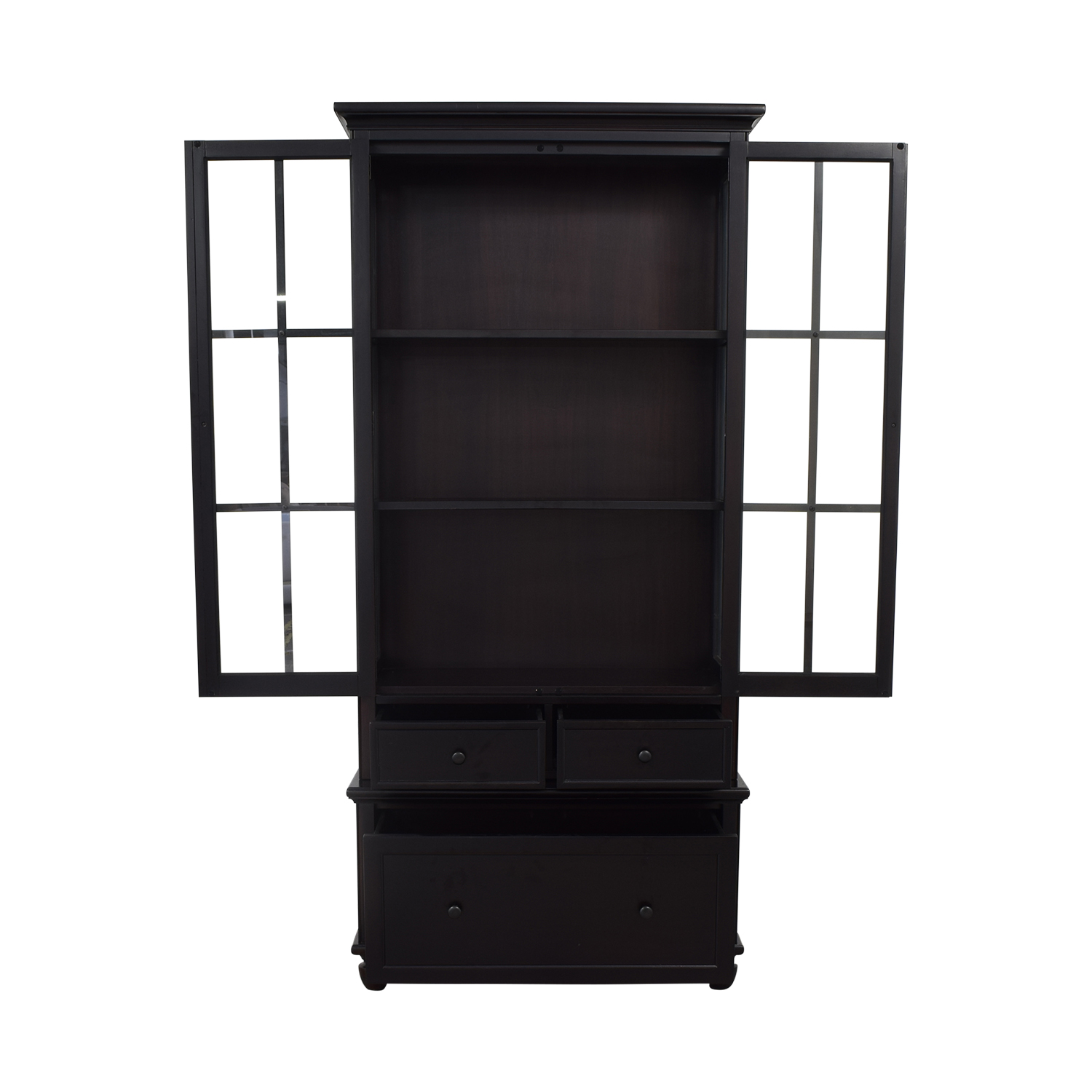 Crate & Barrel Crate & Barrel Storage Bookcase with Shelves coupon