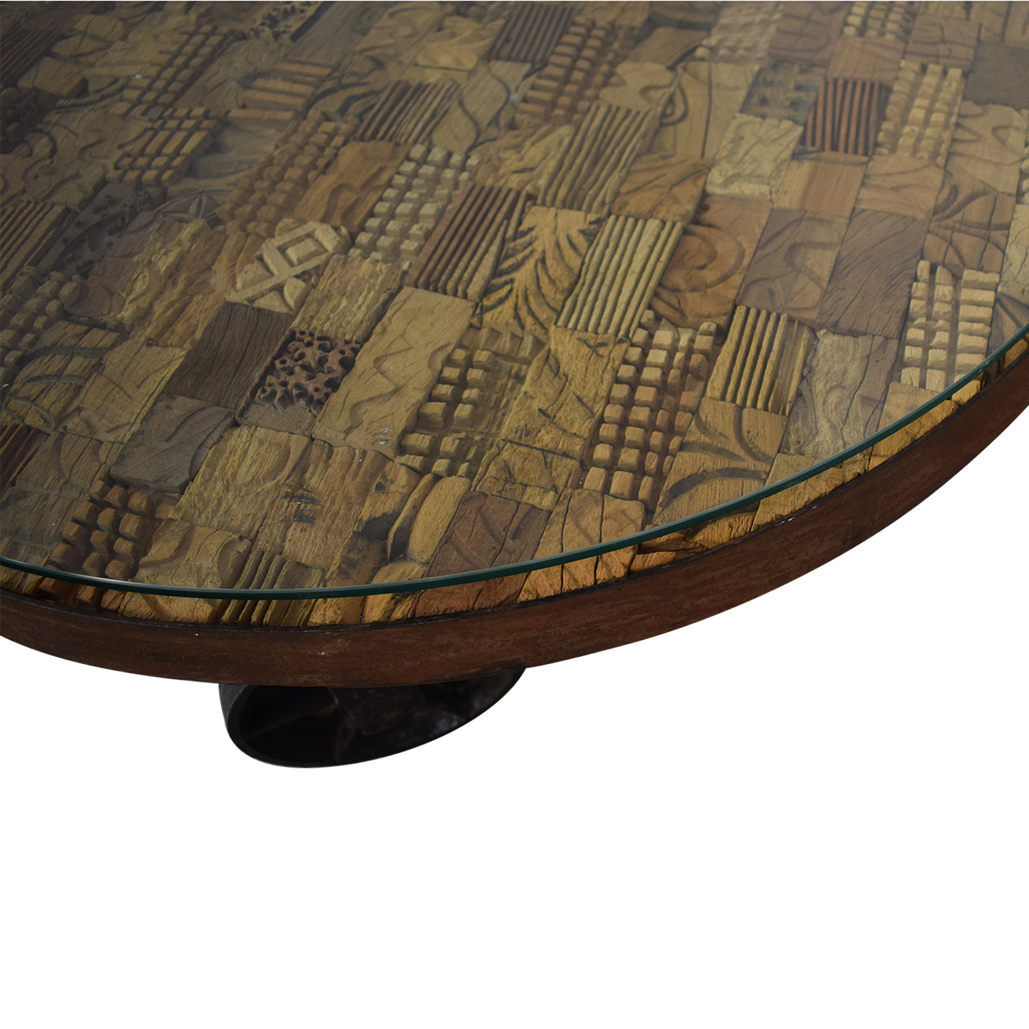 Handcrafted Artisan Coffee Table sale