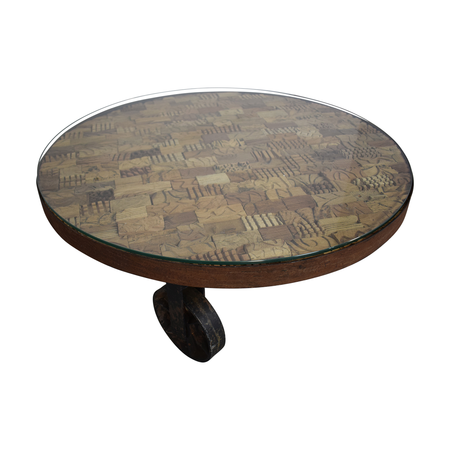 Handcrafted Artisan Coffee Table on sale