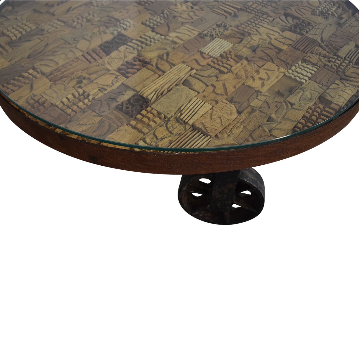Handcrafted Artisan Coffee Table for sale