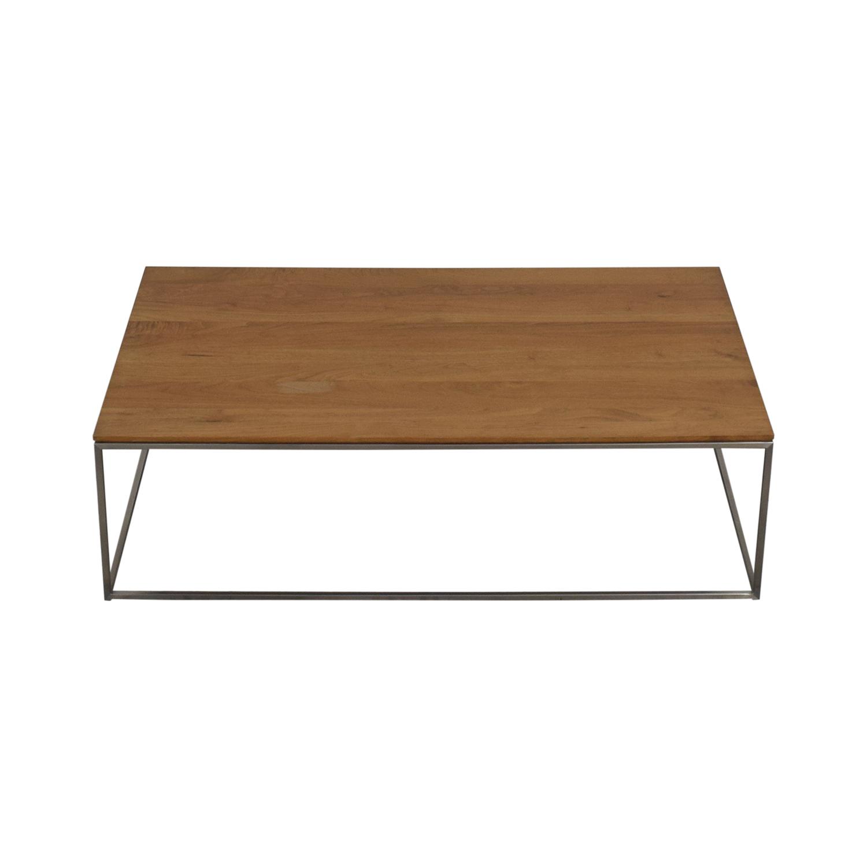 Crate & Barrel Crate & Barrel Frame Medium Coffee Table Coffee Tables