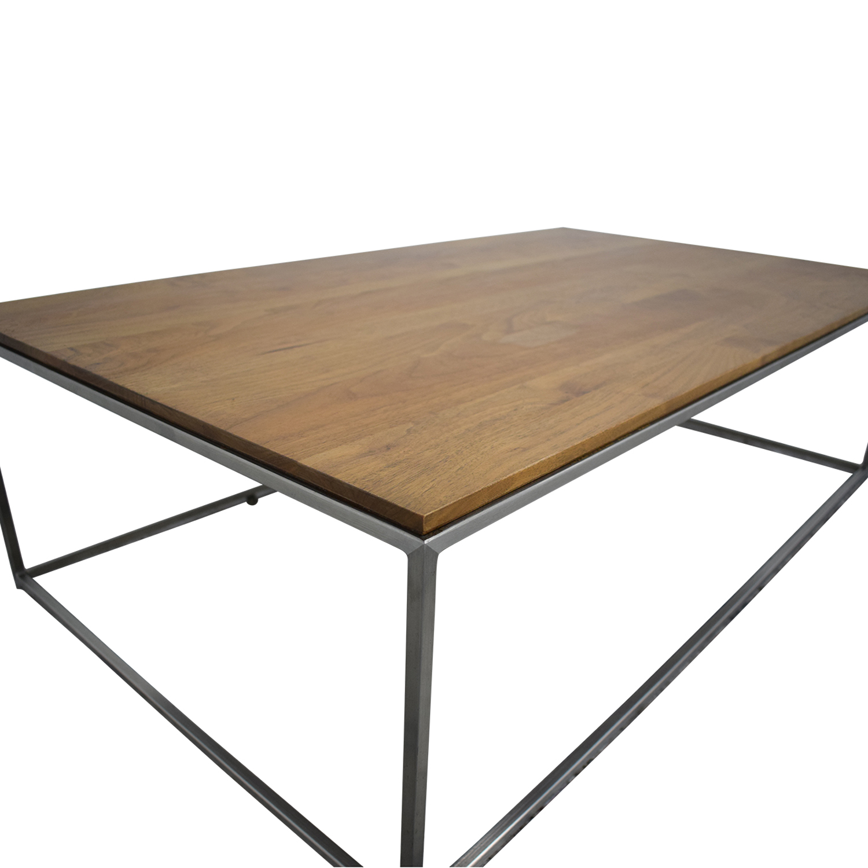 Crate & Barrel Frame Medium Coffee Table / Coffee Tables