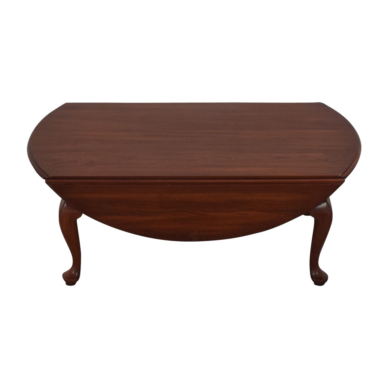 Henkel Harris Drop-Leaf Queen Anne Coffee Table / Tables