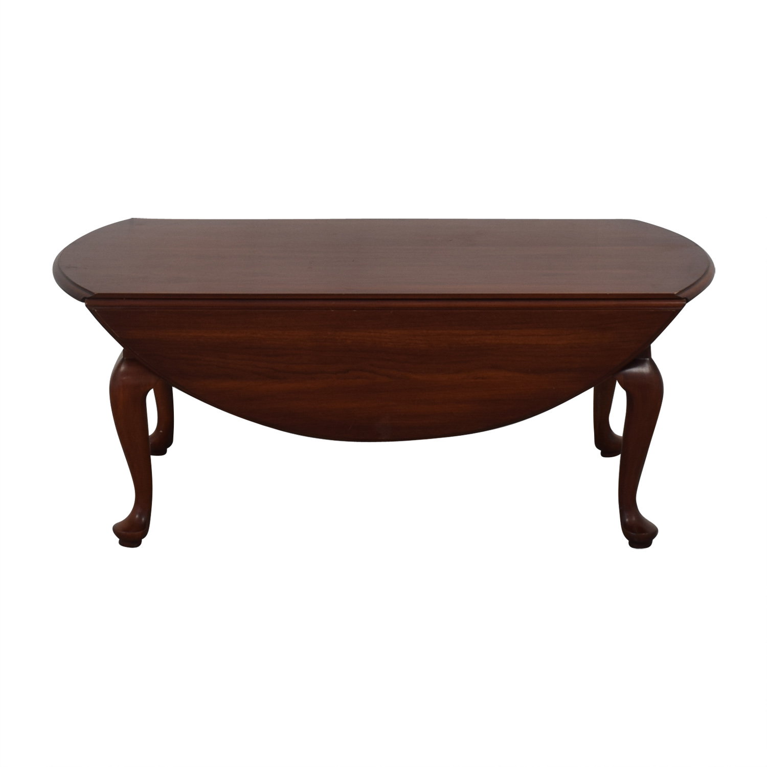 Henkel Harris Henkel Harris Drop-Leaf Queen Anne Coffee Table price