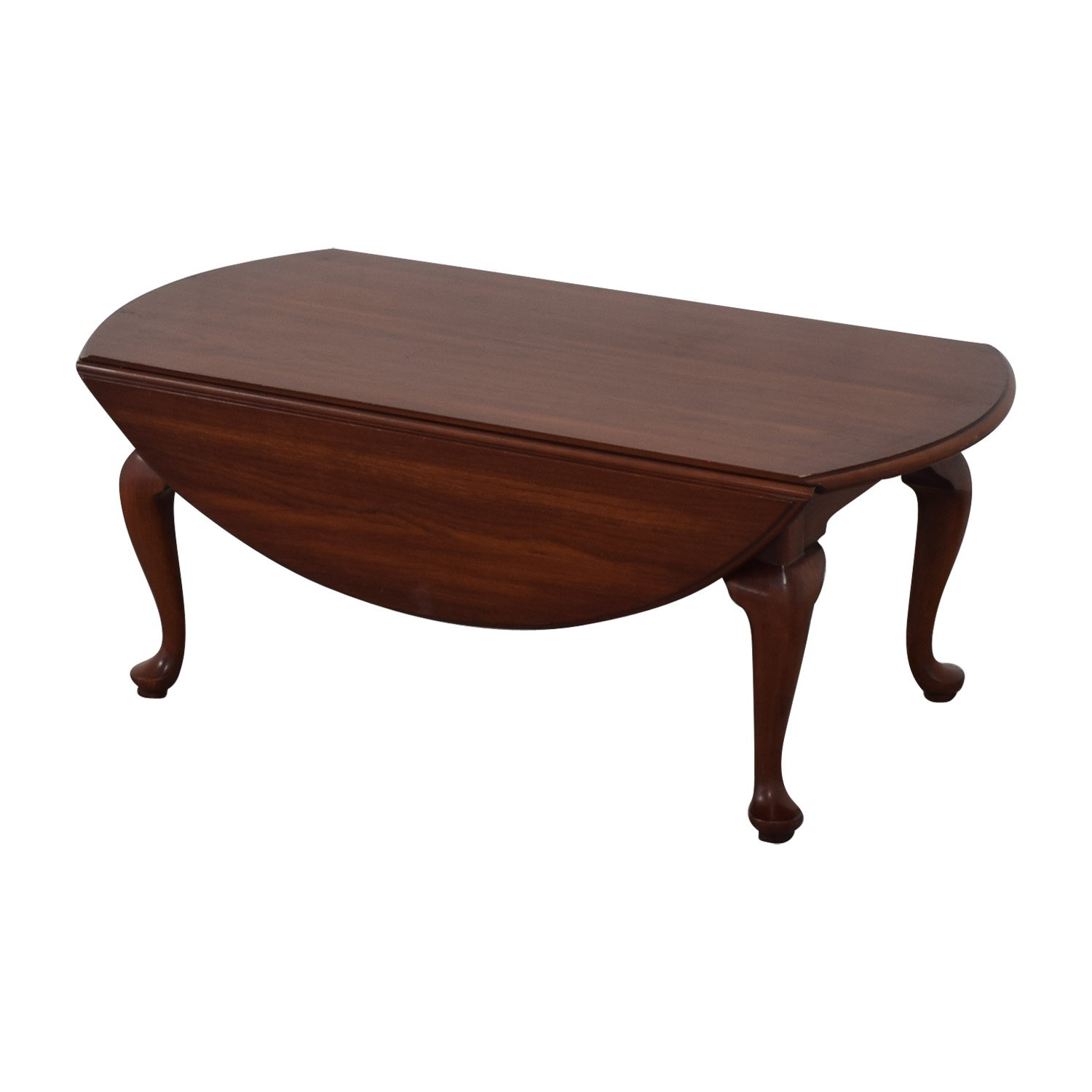 Queen Ann Sidetable.79 Off Henkel Harris Henkel Harris Drop Leaf Queen Anne Coffee Table Tables