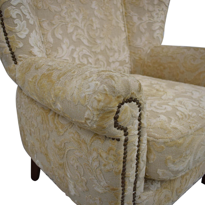 Antique Wingback Armchair sale
