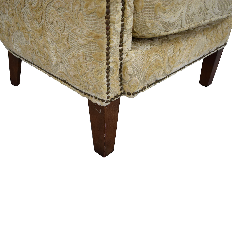 Antique Wingback Armchair price