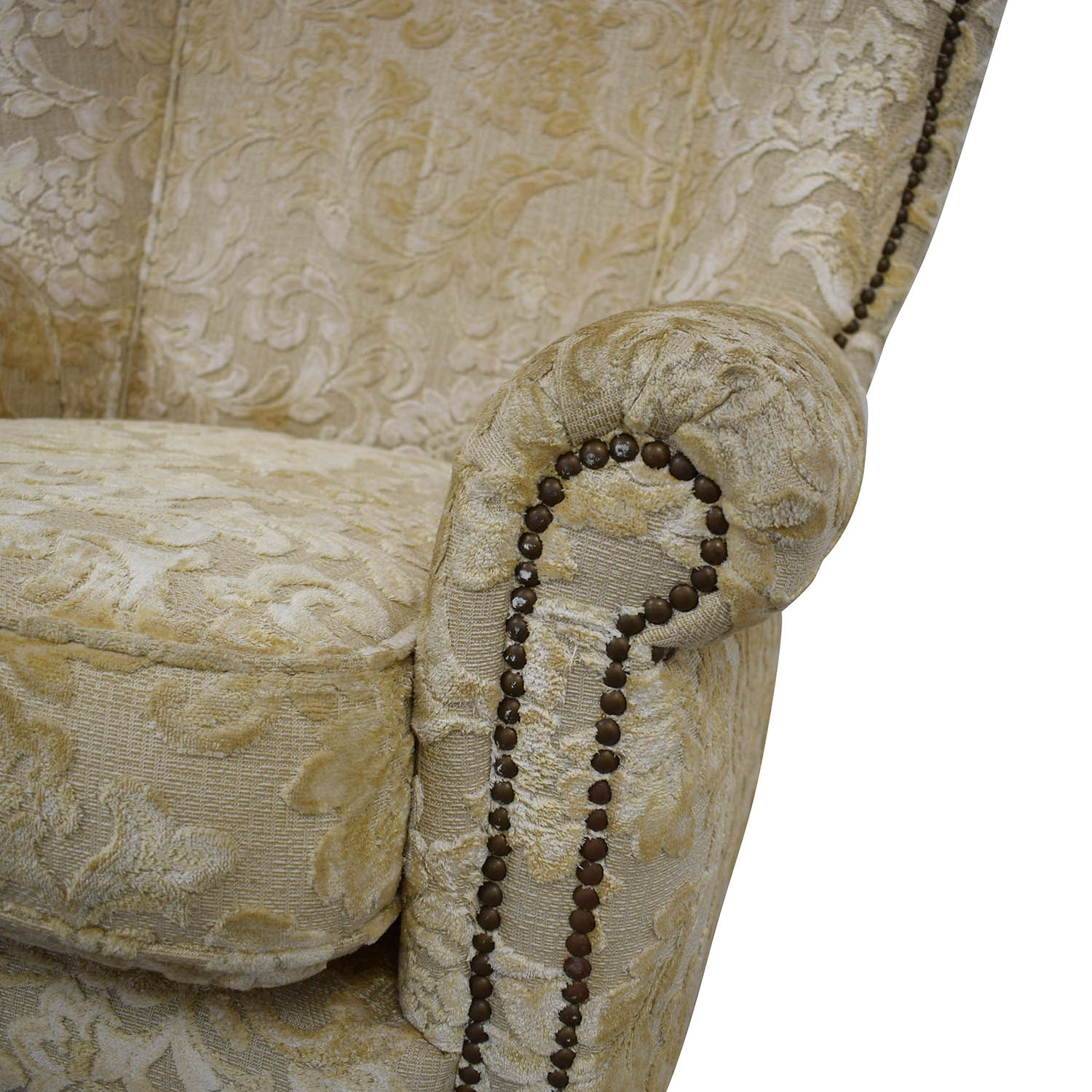 shop Antique Wingback Armchair  Accent Chairs