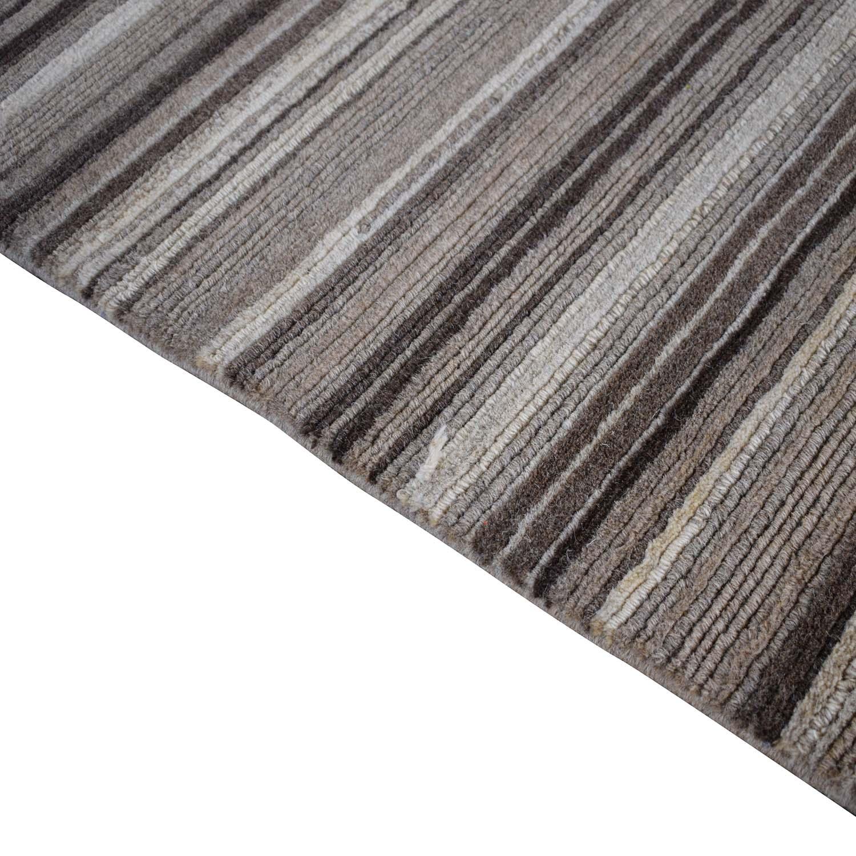 shop Crate & Barrel Lynx Natural Textured Wool Rug Crate & Barrel